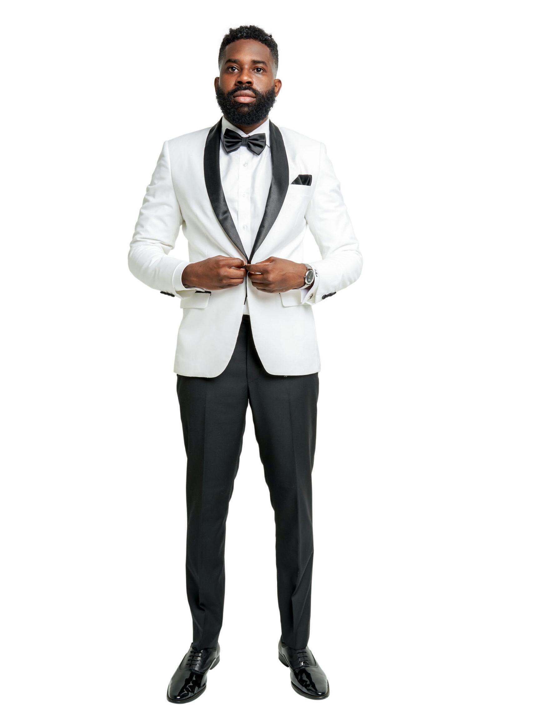 Kingston White Tuxedo
