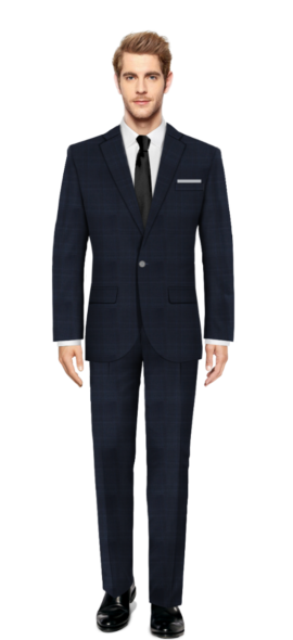 Brent Blue Suit