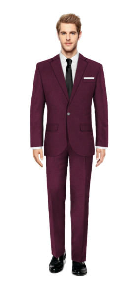 Bromley Purple Suit