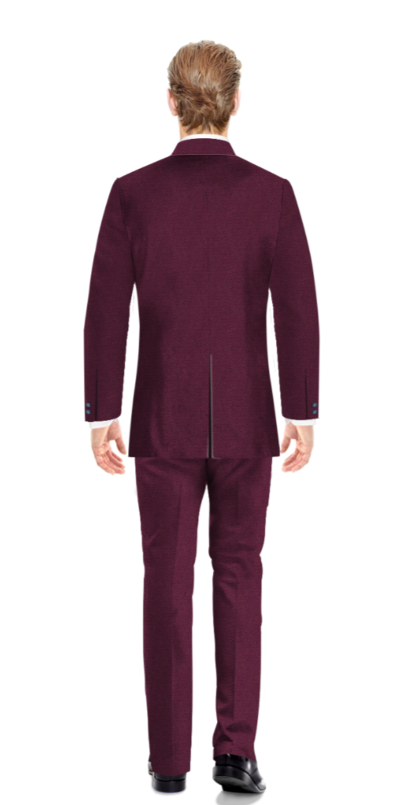 Bromley Purple Suit