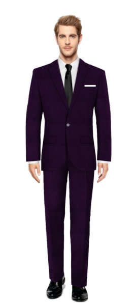 Cambridge Purple Suit