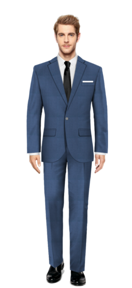 Chapel Blue Suit