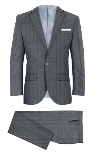 Chinbrook Gray Suit