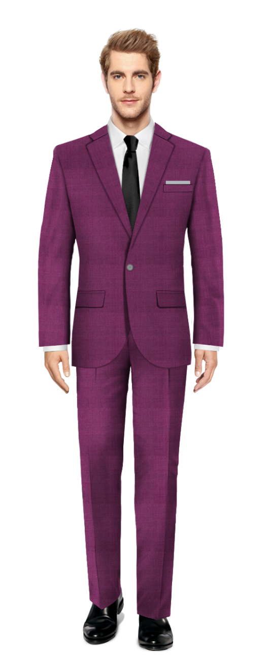Colney Purple Suit