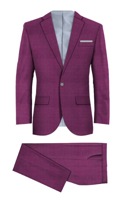 Colney Purple Suit