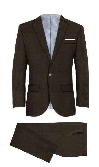 Edmonton Brown Suit
