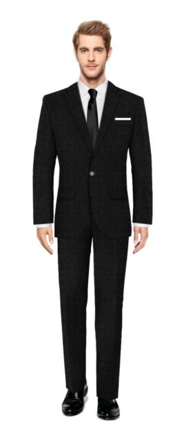Haggerston Black Suit