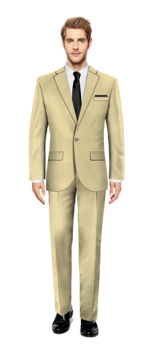 Kilburn Yellow Suit