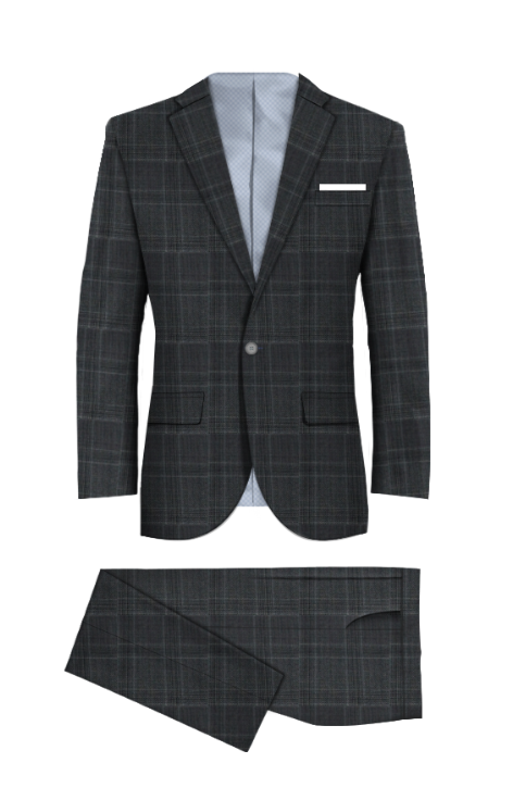Stonebridge Gray Suit
