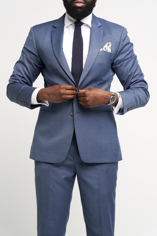 Bedford Blue Suit
