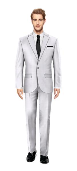 Wimbledon White Suit