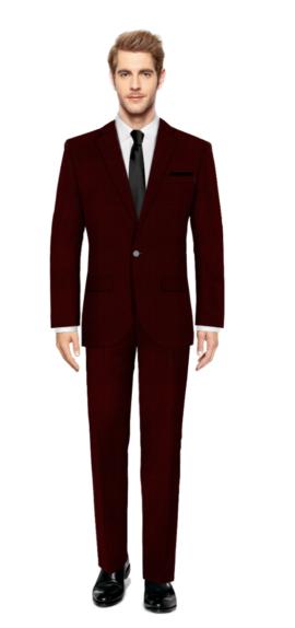 Woodside Purple Suit