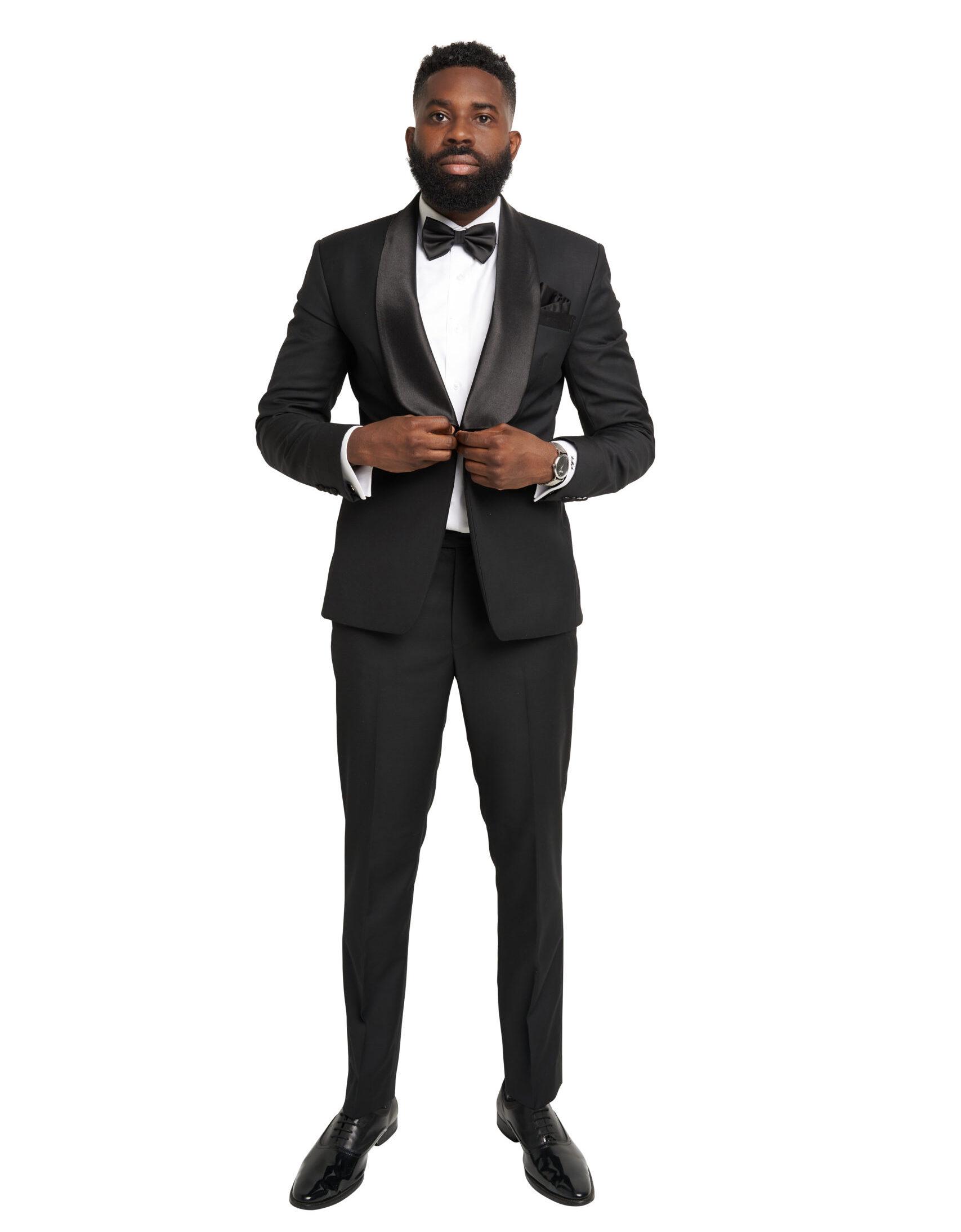 Hampton Black Tuxedo