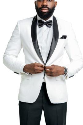 Kingston White Blazer