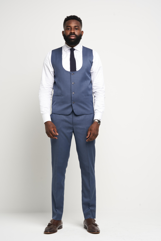 Bedford Blue Vest