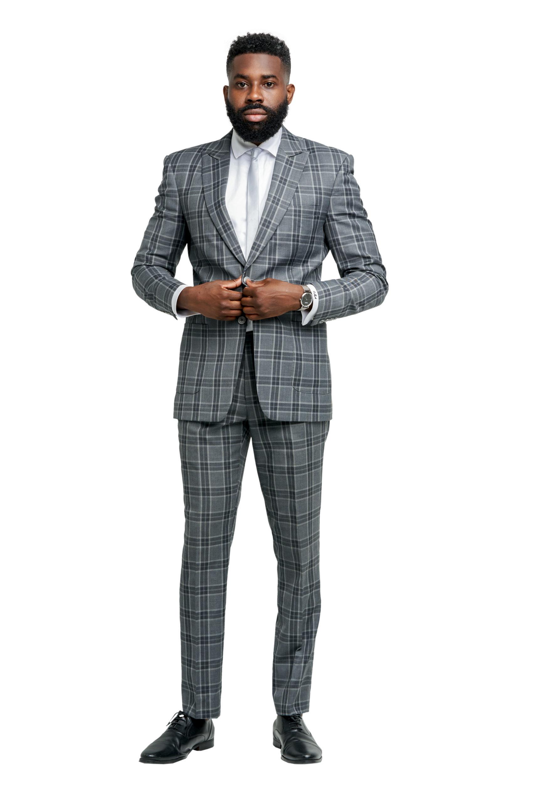 Fulham Gray Suit
